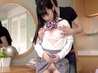 クッソ可愛い美少女に制服コスプレさせてホテルハメ撮り!