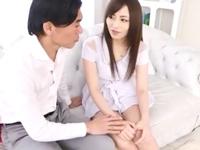 チッパイだけど可愛い桜井あゆと濃厚セックス→顔射フィニッシュ!