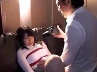縛って捕らえた美少女JKをハメ撮りしながら脱がし中出しレイプ!