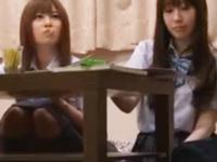 「ぃぃよ…おじさんなら」JK成瀬心美ちゃんが巨乳揺らしハメ