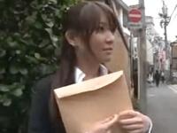 大○優子似「なんでもしますから‥」不倫をネタに脅された素人OLをホテルで無許可中出しハメ!