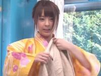 温泉地に旅行に来ていた関西弁素人娘にMM号マッサ師の魔の手が迫る