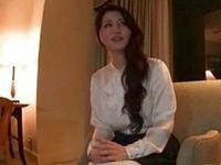 「んんっ…イクっ」お嬢様系な素人娘とホテルでハメ撮り!
