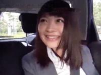 童顔Dカップの素人娘とホテルでハメ撮り→中出しフィニッシュ!