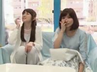「アンケートじゃないんですか?w」巨乳な素人娘2人ナンパ→MM号で両方パコハメw