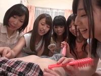 巨乳美少女達が童貞を虐めまくり→中出しフィニッシュ!