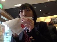 ロリカワJKがおじさんと1日デート→ご飯後即ホテルで援交ハメw