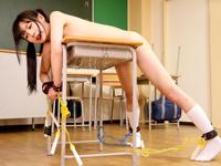 「嫌ぁぁッ!やだ!」JK跡美しゅりが教室で同級生に拘束され犯される