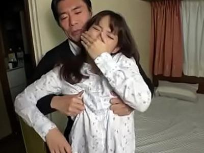 「私はお義父さん専用のマンコ…」巨乳妻が義父と近親SEX