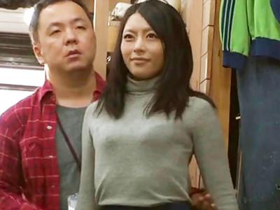 「んっ…ぁっ」桜井あゆがマネキンになり好き放題犯され続けるw