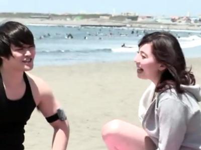 某有名YouTuberトミック(仮)が海ナンパしてヤラカシた映像流出