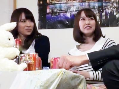川崎でナンパゲットした素人娘と宅飲み→泥酔させ中出し乱交スタート!