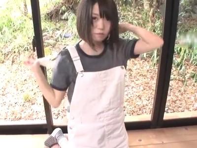 乃木坂メンバーに居そうな純朴娘がAVデビュー!初撮影から激しいパコつきで連続イキ!