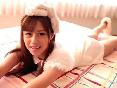 瑠川リナが終始カメラ目線で濃厚な性交を見せつけるw