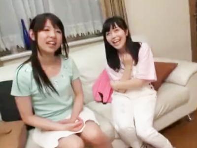 「でっか~ぃw」篠田ゆう達がデカチンとゲームに挑戦w