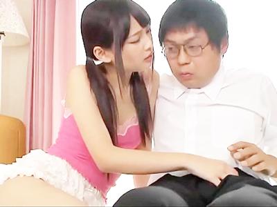「若いオチンポのザーメン…」若肉棒を喰いまくる美少女JKと入れ替わった淫乱BBA