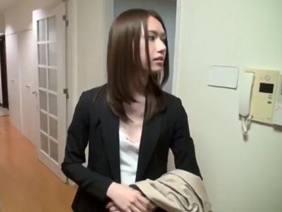 不動産屋の美人OLに内見と嘘をついてセクハラパコ