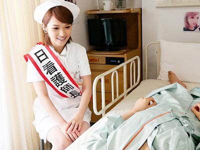 寝たきりで過ごす患者を蘇らせる痴女ナース
