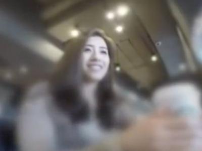 「赤ちゃん出来ちゃう…」新宿でナンパした若妻と即ハメ性交!