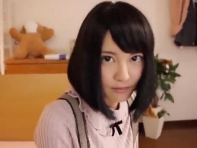 お兄ちゃんが大好きでたまらない妹・松岡ちなちゃんが乳揺れ騎乗位で近親相姦