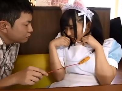 自らが経営するメイド喫茶の美少女店員に催眠掛けてハーレムパコするクズ店長