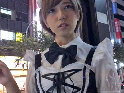 日本に遊びにきていたカタコト日本語の素人美少女