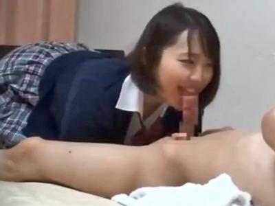 「えっ出したの!?」デリ嬢に女子高生コスプレさせて無許可膣内射精キメた結果w