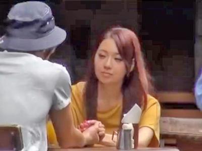 巨乳AV女優をガチナンパ→盗撮映像拡散中!!