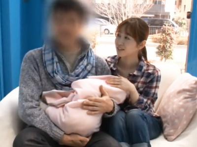 子供が生まれたばかりの美人妻がMM号でのNTRハメであっけなくアクメ堕ち