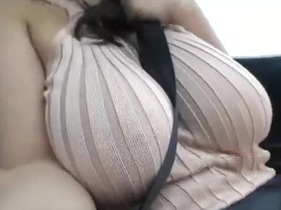 ノーブラのパイスラ巨乳の破壊力が凄いボイン娘の羞恥SEX