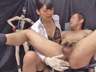 女王様とM男がお互いの利害一致で性的趣向を謳歌するペニバン逆アナルSEX