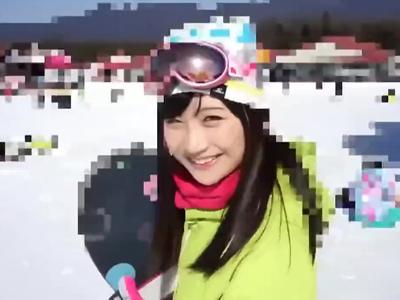 スキー場に一人できてた圧倒的美少女を尾行しナンパパコ
