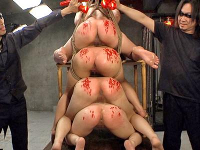 監禁した美少女JKたちをハードに徹底陵辱
