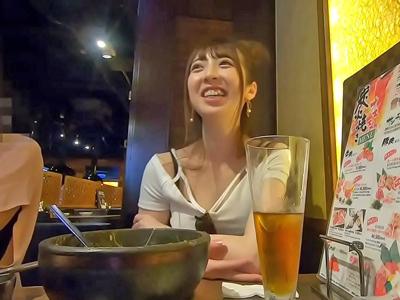 韓流だいすきスタイル良しの可愛すぎるイン○タ女子とナンパSEX