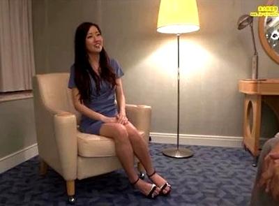 清潔感が溢れる素人GET→モデルのようにスラーっとした長身美女が大開脚でホテルハメ撮り