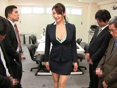 入社面接でチンポを味見ヤリ過ぎ女社長さんの痴女生態