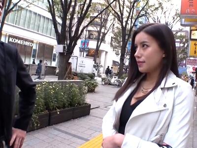 ルックス最強な素人さんを歌舞伎町でGET!やっぱり一段レベルが高い美女と即日パコ